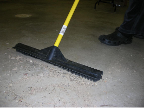 Industrial Size Rubber Broom